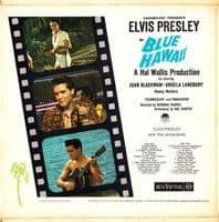 ELVIS PRESLEY Blue Hawaii Vinyl Record LP RCA Victor 1962
